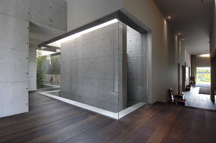 Concrete House Contemporary Spanish Home  earchitect