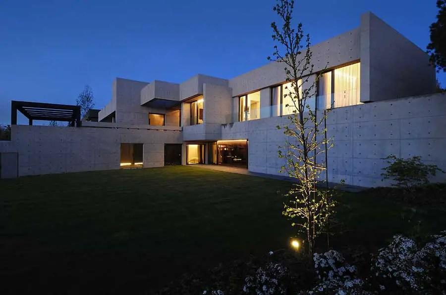 Concrete House Contemporary Spanish Home E Architect