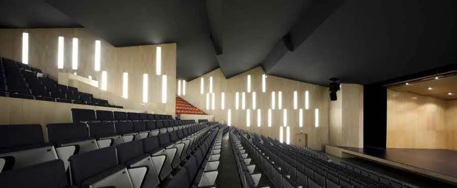 Municipal Auditorium Teulada  Francisco Mangado Building