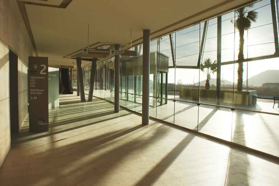 Santa Luca General University Hospital Murcia Health Building  earchitect