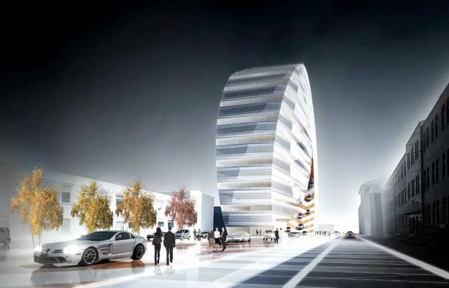 Daimler Headquarters  Stuttgart HQ Building Germany  e