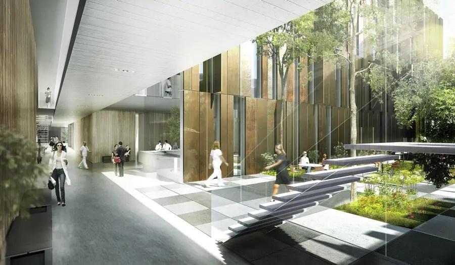 Helsingborg Hospital Building Sweden  earchitect