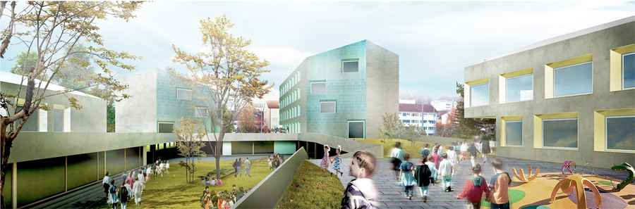Allschwil School Swiss Architecture Competition School