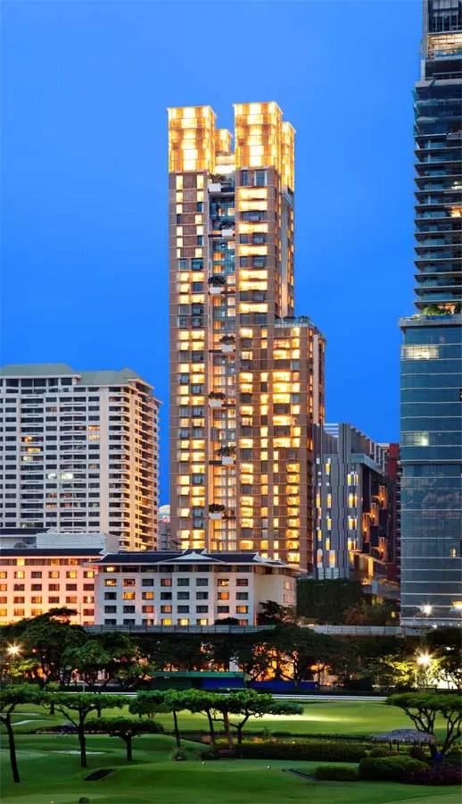 Hansar Bangkok  Residential Skyscraper Thailand  earchitect