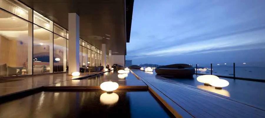 Hilton Pattaya  Thailand Hotel Building  earchitect
