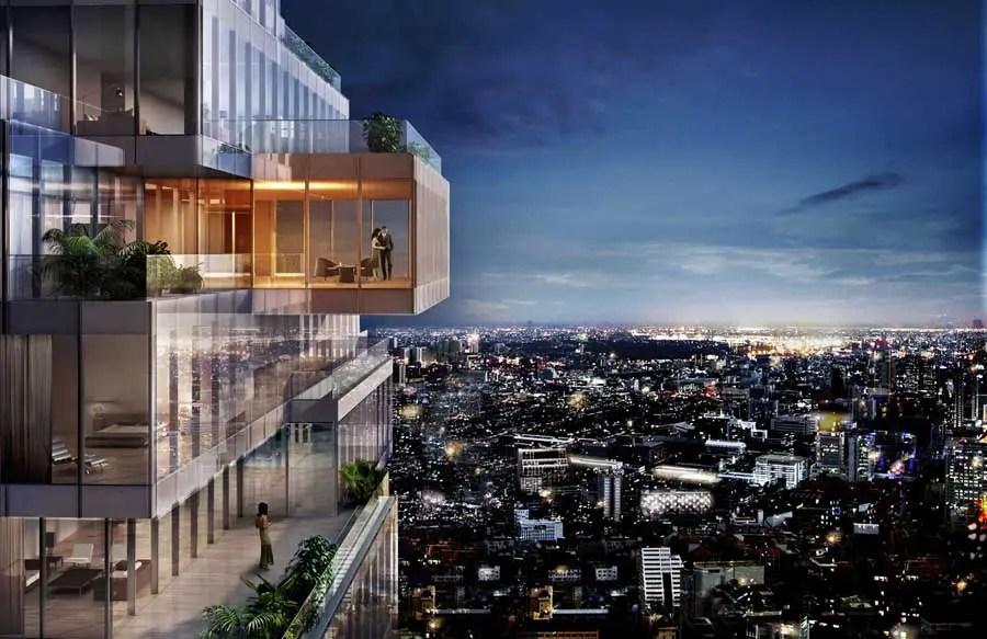 MahaNakhon Bangkok Skyscraper Tower E Architect