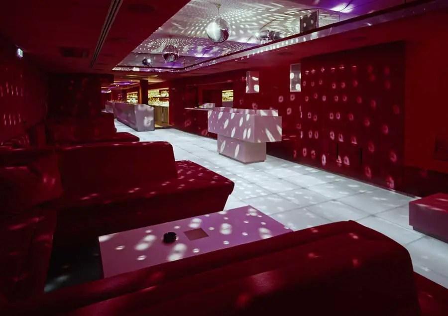 Red Room Vienna Austria  Comida restaurant Stubenring  earchitect