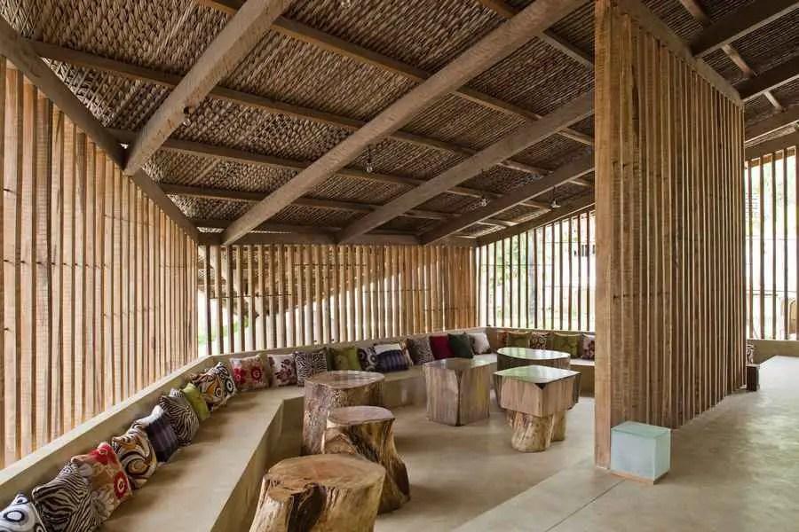 Wooden Bar Design
