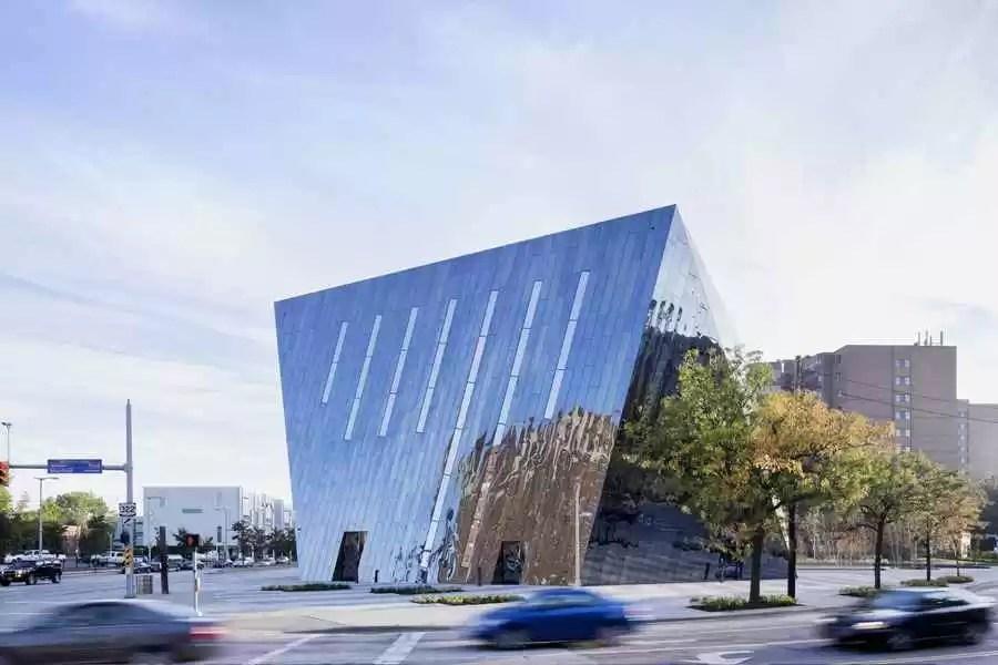 Museum of Contemporary Art Cleveland MOCA Building  e