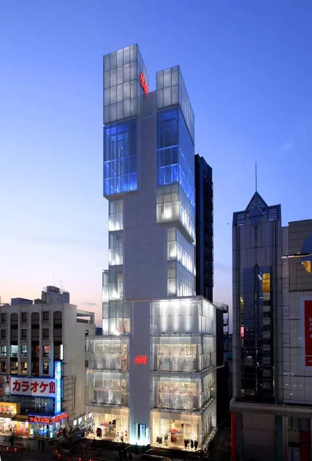 The Ice Cubes  Tokyo Store Design Shibuyaku Building