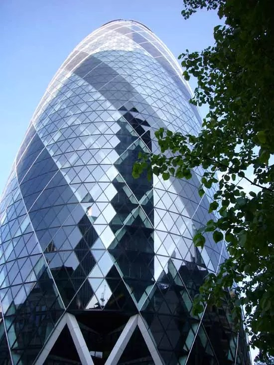 Swiss Re Building The Gherkin London  earchitect