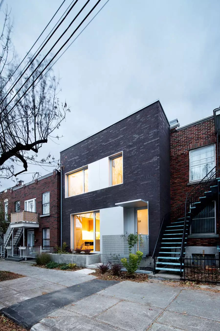 Live Work House Mile Ex Montr 233 Al Residence E Architect