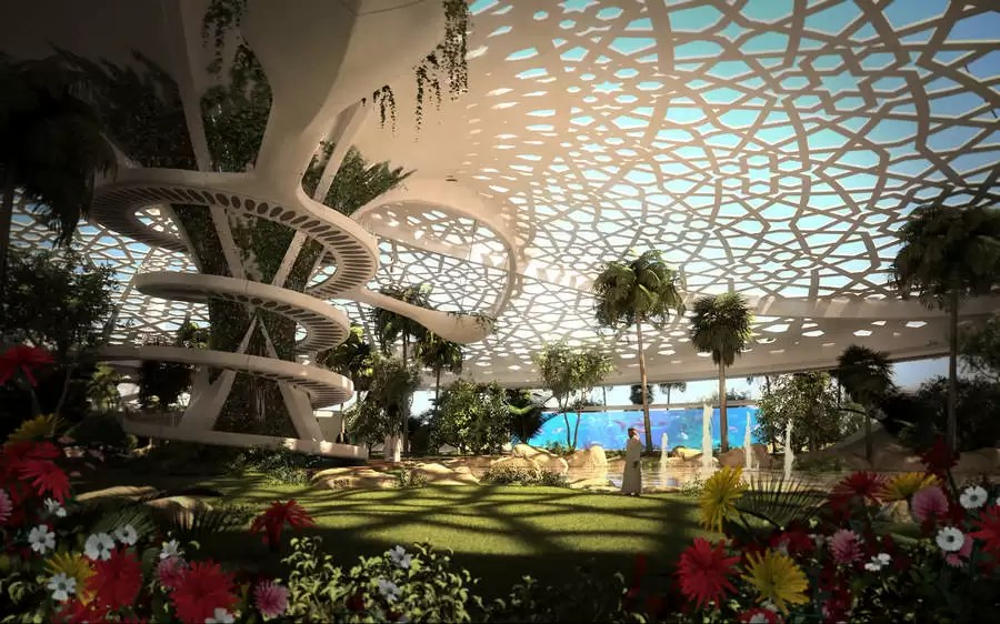A Palace For Nature Qatar  earchitect