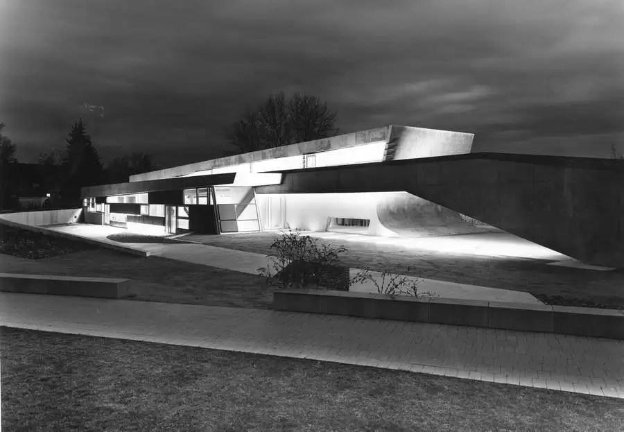 Landesgartenschau  German Zaha Hadid Building  earchitect