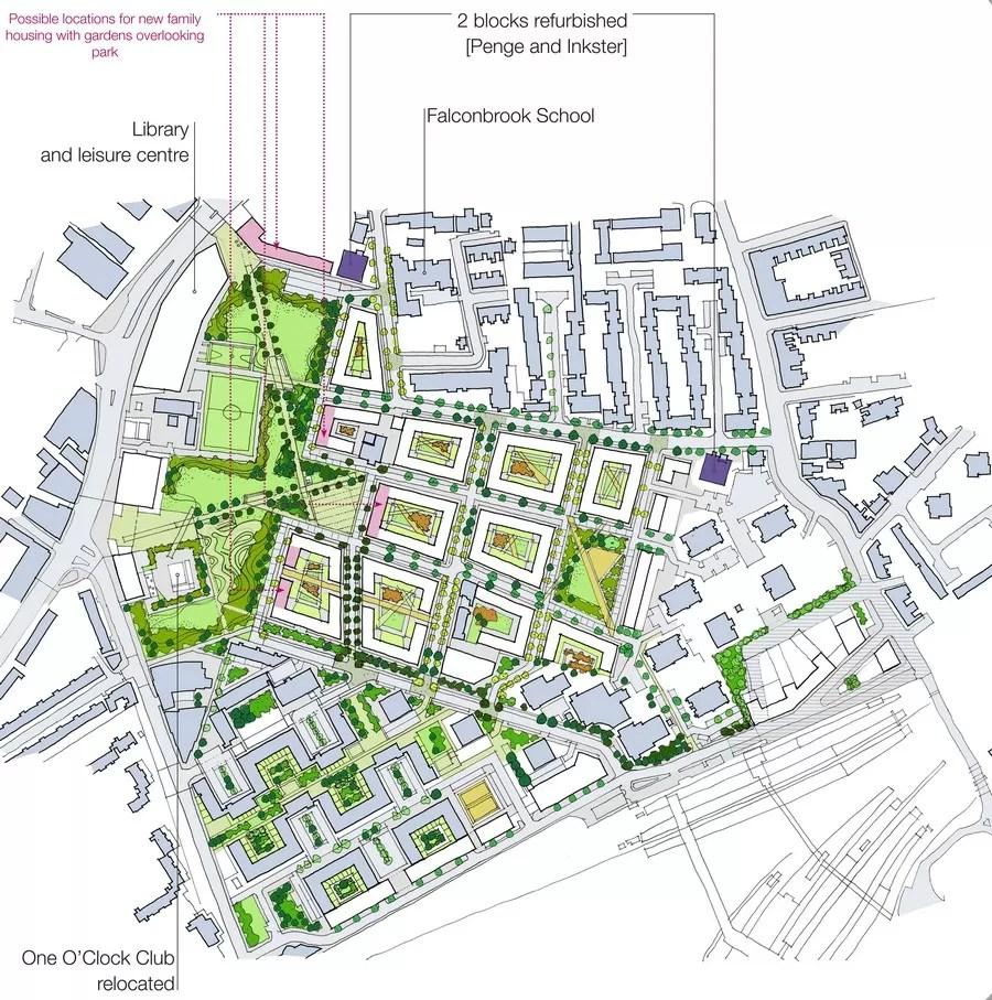 Battersea Estates Redevelopment  earchitect