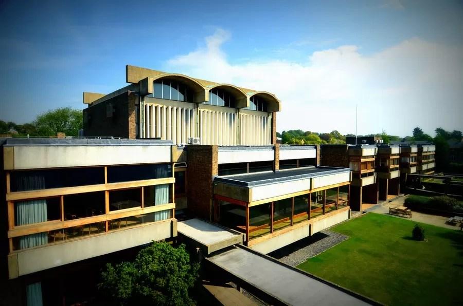 Churchill College Cambridge Building  earchitect