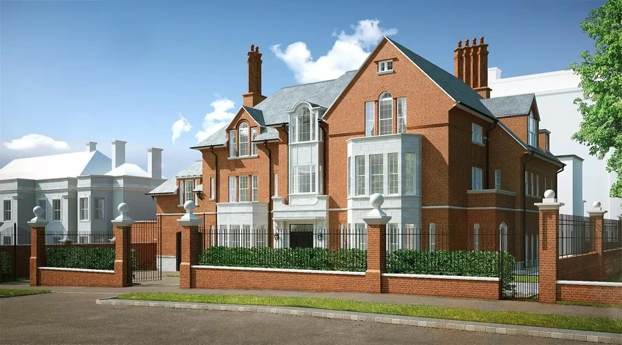 New Build in Kensington Palace Gardens  earchitect