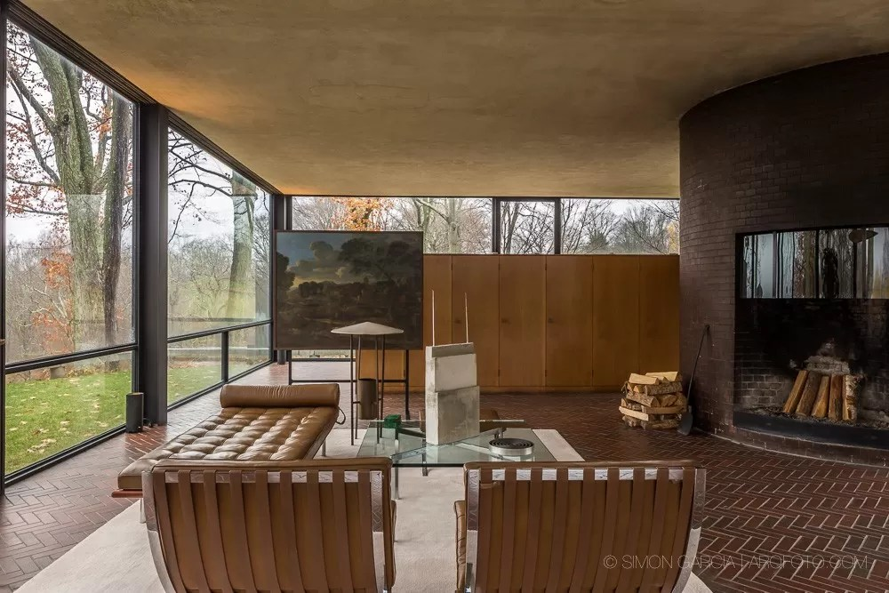 Philip Johnson Glass House New Canaan  earchitect