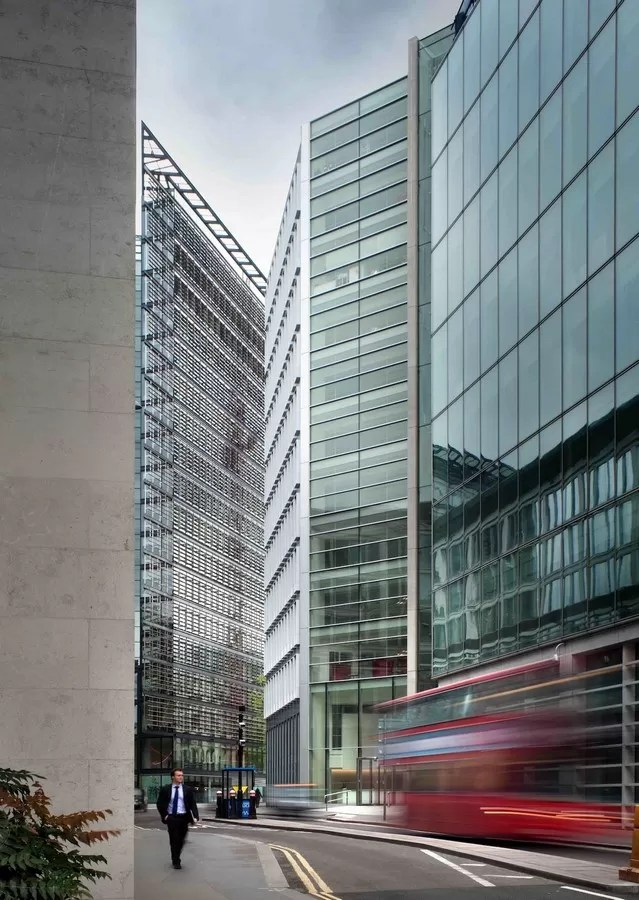 New Fetter Place in London  earchitect