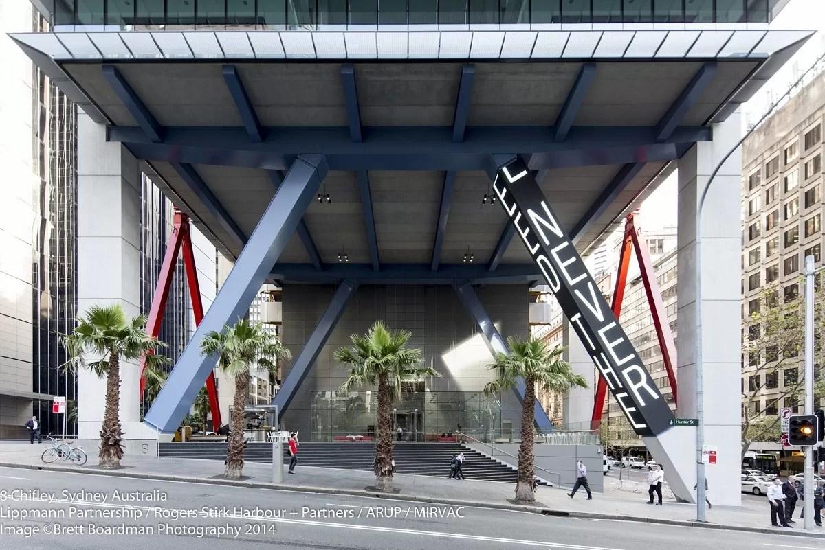 8 Chifley Square Unveils Landmark Artwork in Sydney  earchitect