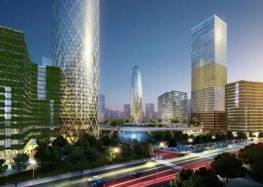 Qianhai Exchange Plaza Master Plan in Shenzhen - e-architect