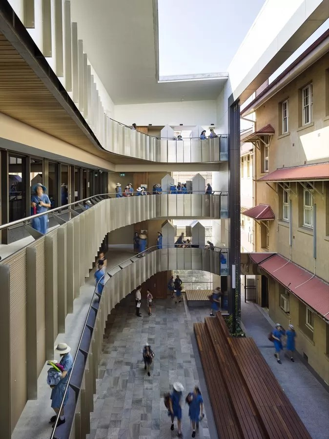 All Hallows School in Brisbane  earchitect