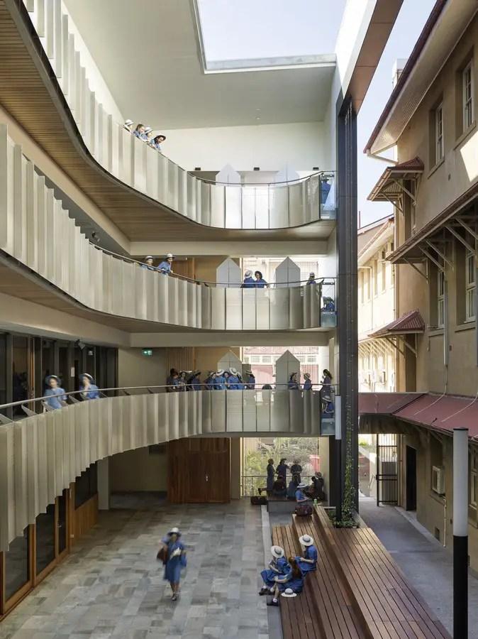 All Hallows School in Brisbane  earchitect