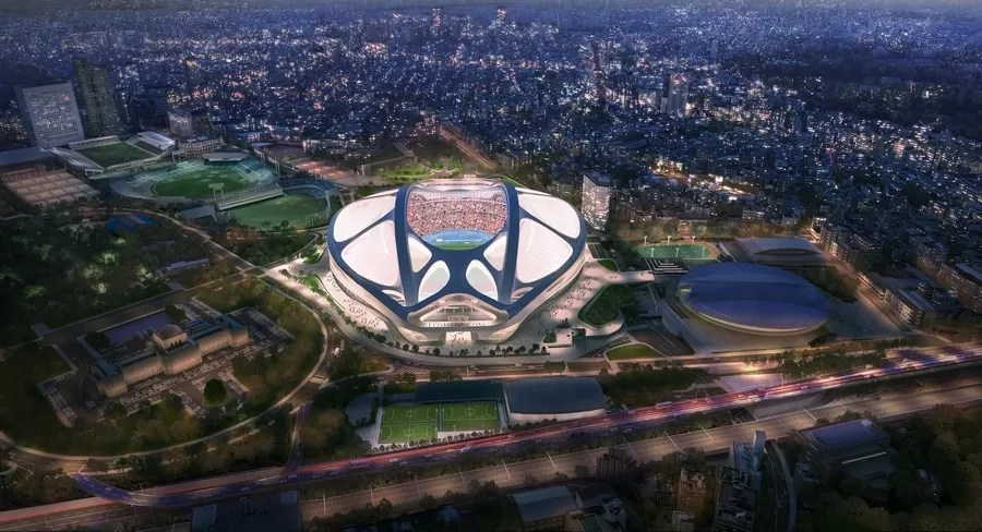 New National Stadium Of Japan In Tokyo E Architect