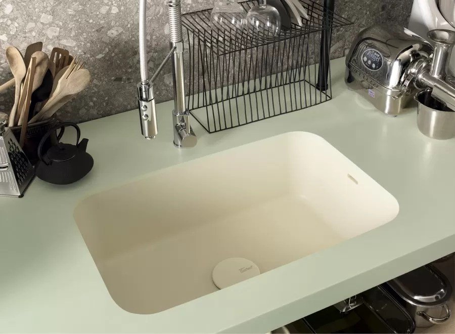 corian kitchen sinks small table with chairs dupont ready made e architect