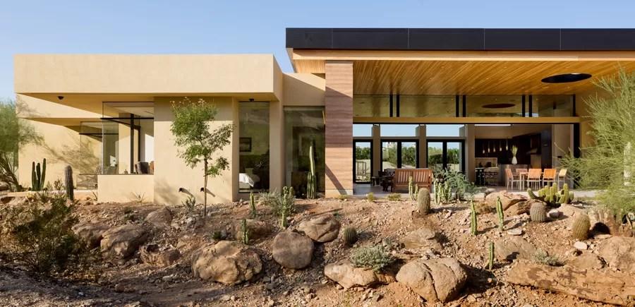 Desert Wash Paradise Valley Arizona House  earchitect
