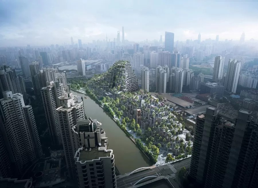 Moganshan Shanghai by Heatherwick Studio  earchitect