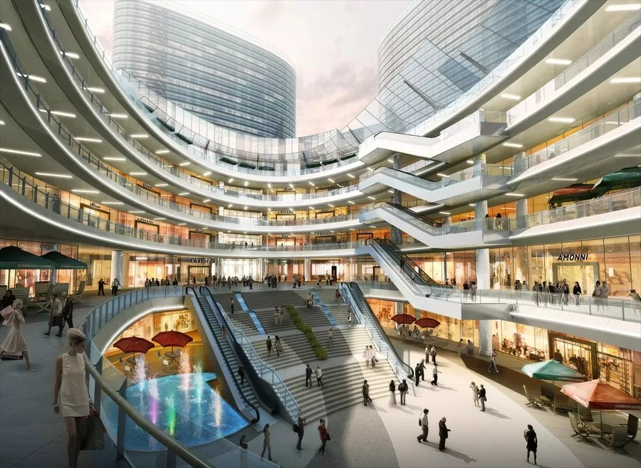 Suning Plaza In Xuzhou E Architect