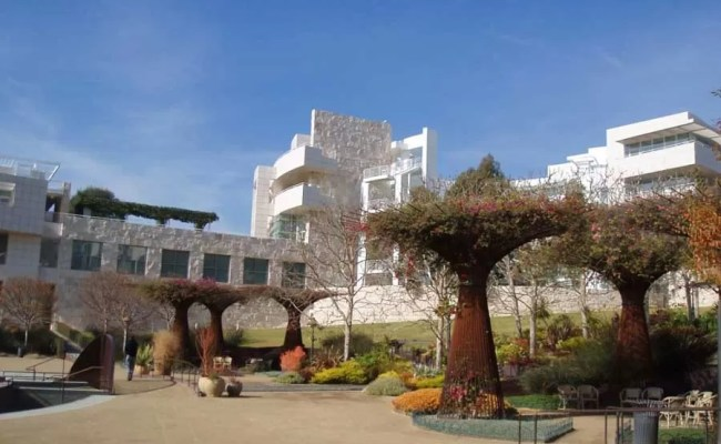 The Getty Center Los Angeles Museum Building E Architect