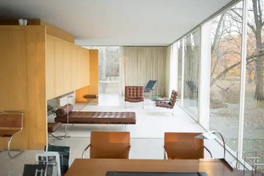 Casa Farnsworth Plan