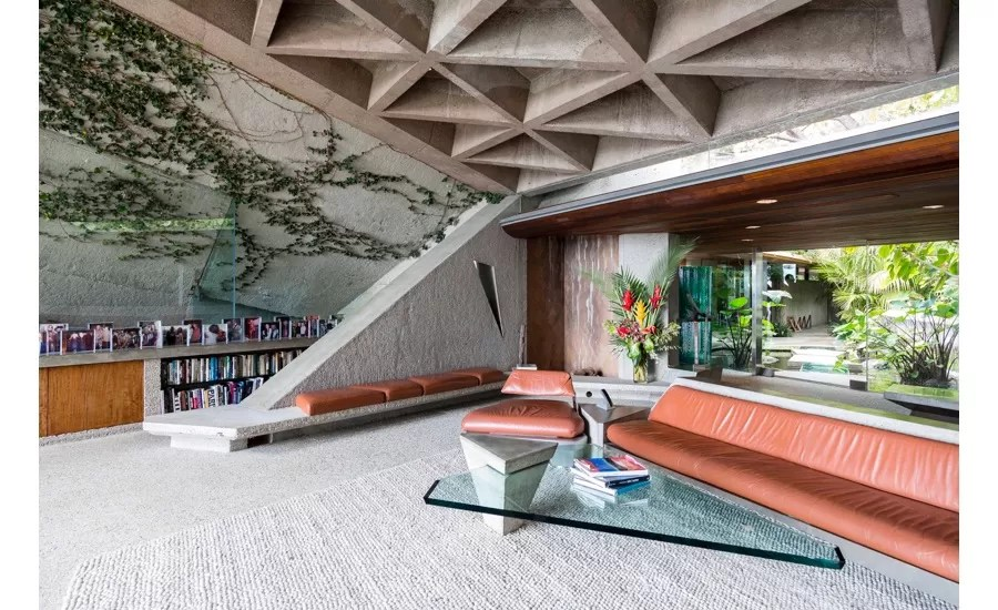 James Goldstein House In Beverly Hills E Architect