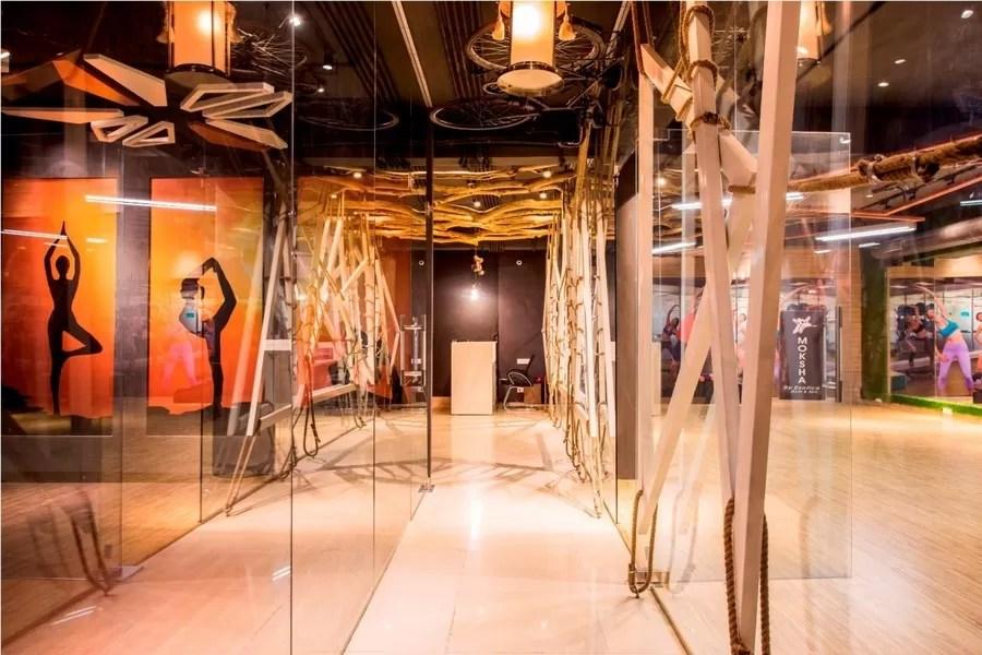Moksha Fitness and Spa Panchkula Building  earchitect