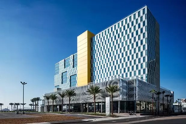 BRIC Marriott Hotel San Diego Bay  earchitect