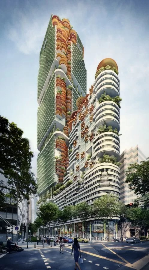 Sky Forest City Tower Singapore  earchitect