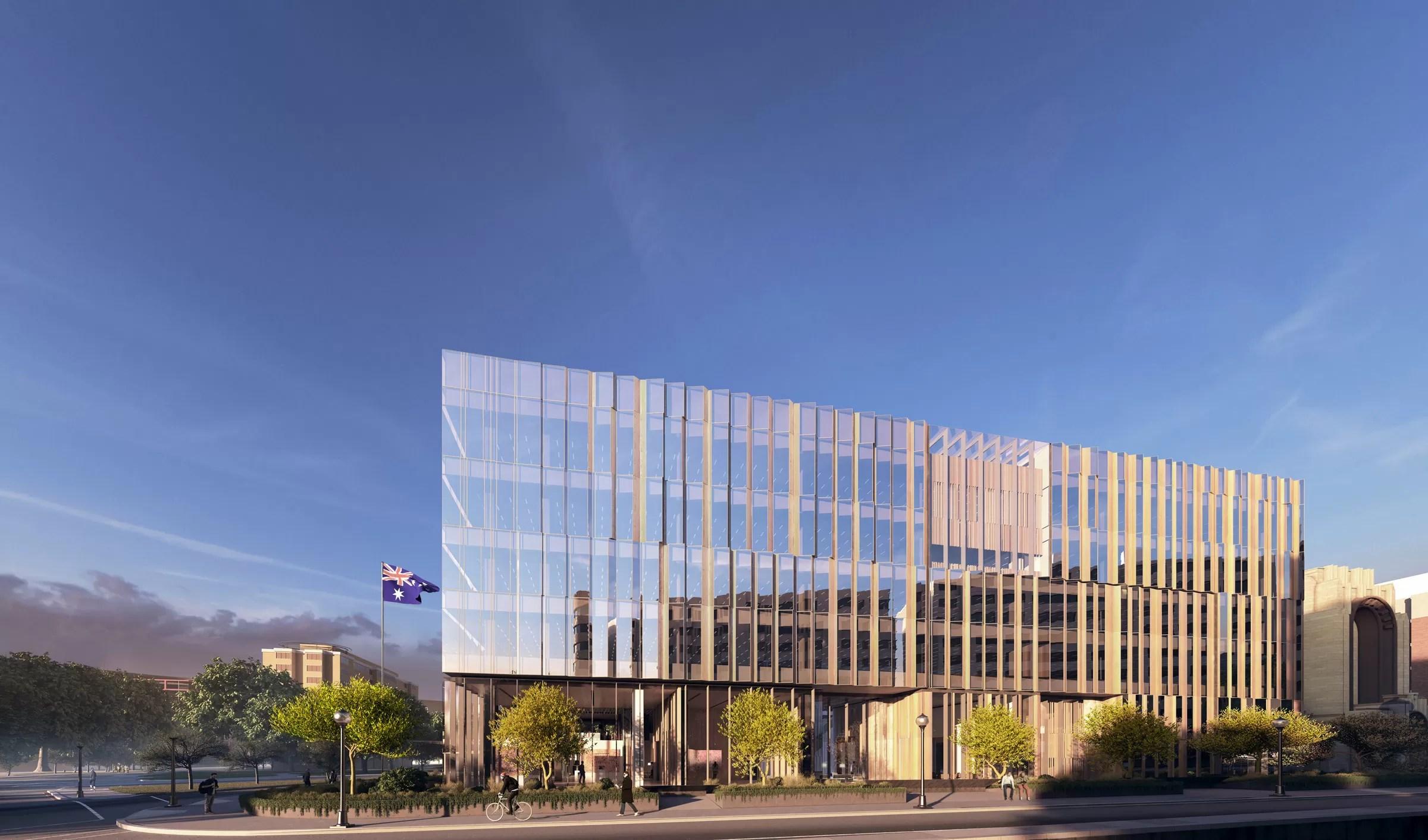 New Australian Embassy In Washington DC Building E Architect
