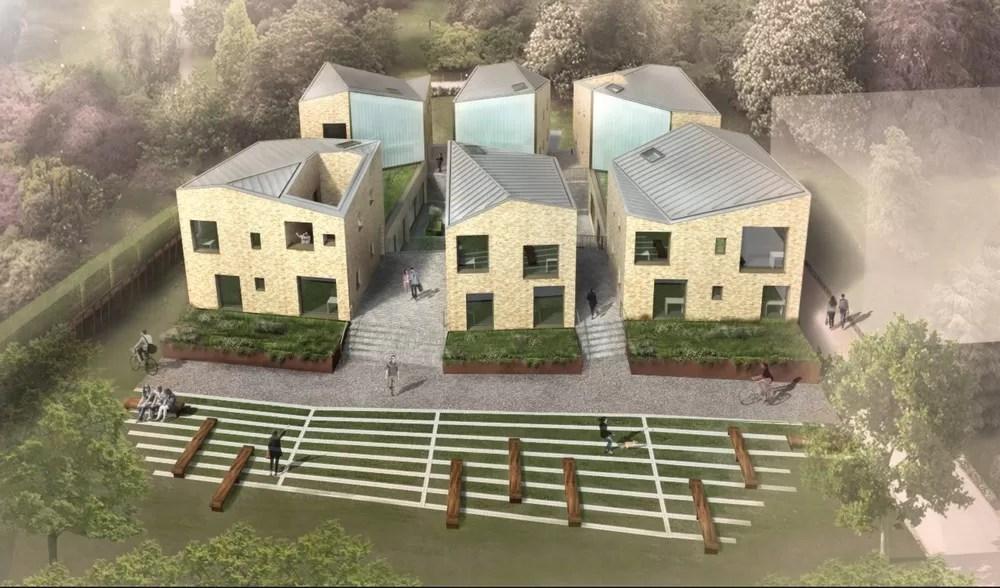 6 Pavilions  University College Oxford  earchitect