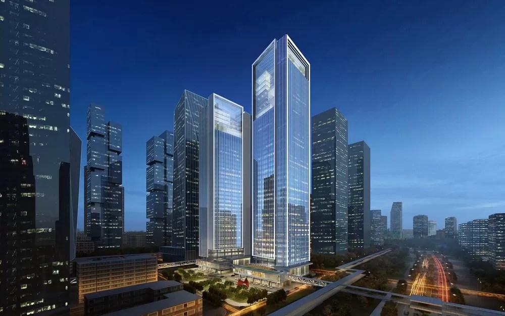 COFCO Qianhai Asia Pacific Headquarters Towers in Shenzhen