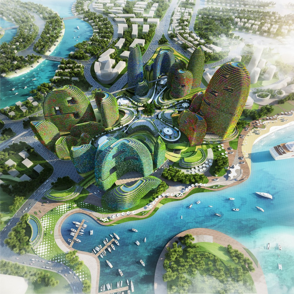 Country Garden Forest City in Malaysia  earchitect