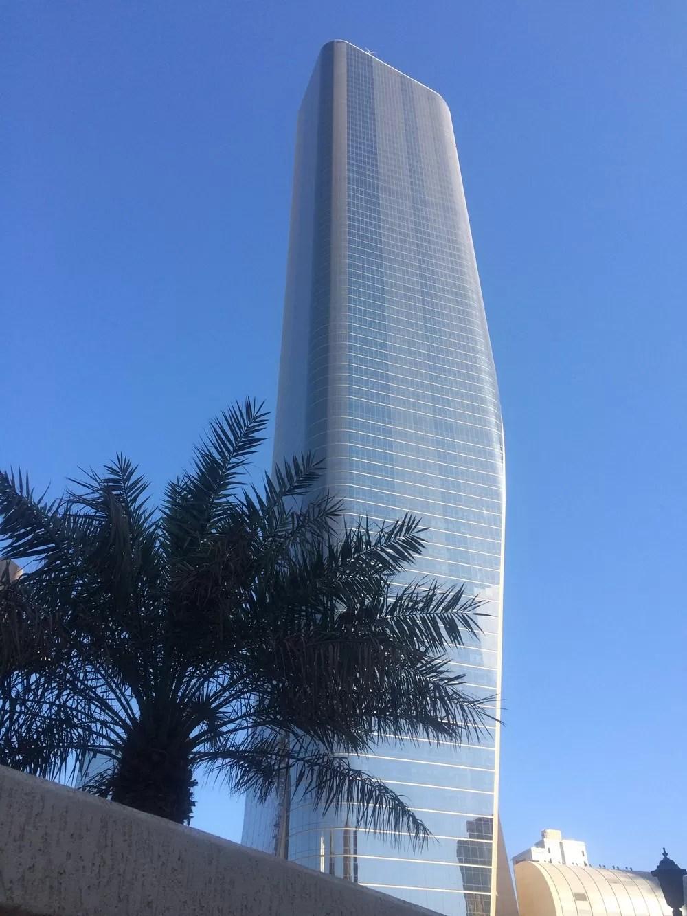 Al Hamra Tower Kuwait City Skyscraper  earchitect