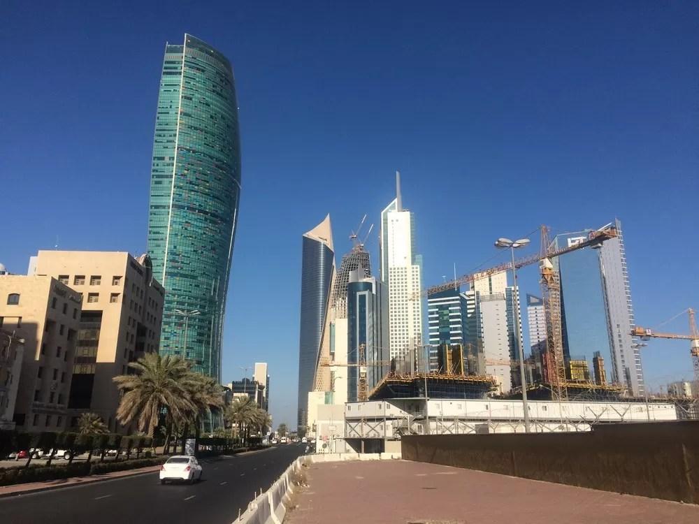 Kipco Tower Kuwait City Skyscraper  earchitect