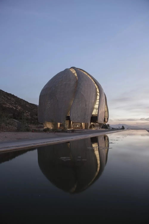 Bahai Temple Santiago Building Chile  earchitect