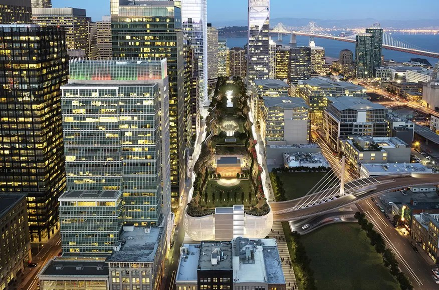 Salesforce Transit Center Building E Architect