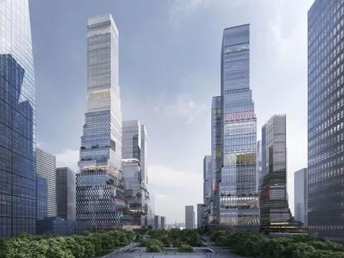 Shenzhen North Station Urban Design Competition E Architect