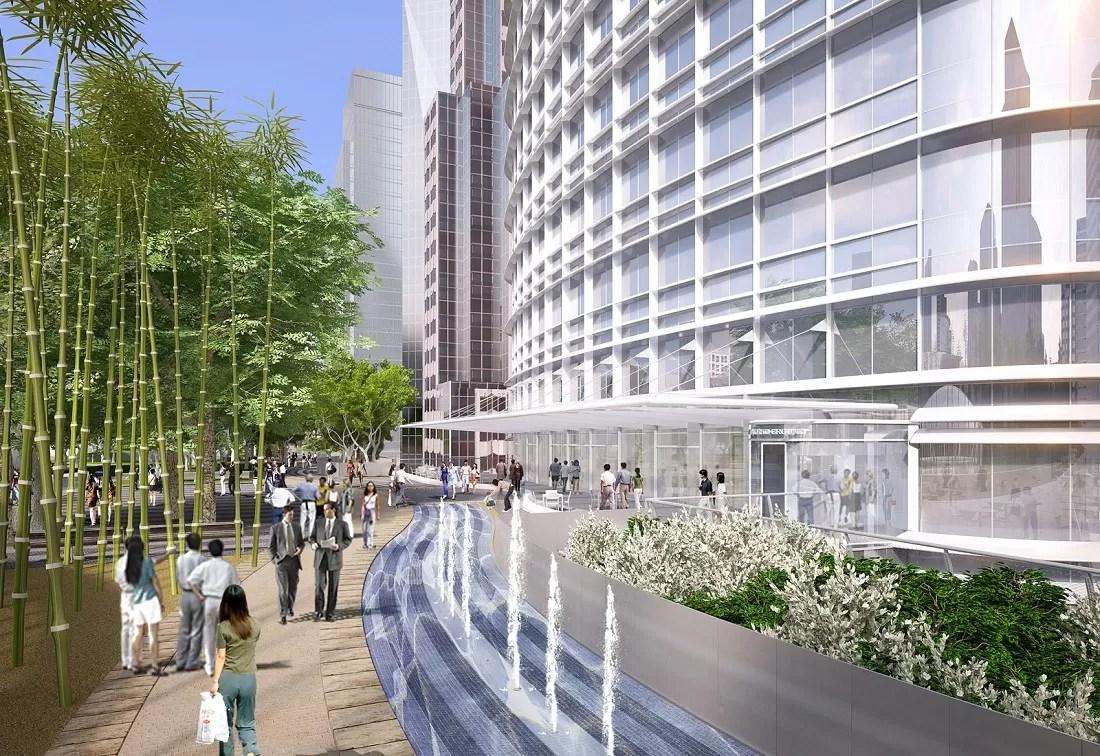 Salesforce Tower Building By Pelli Clarke Pelli E Architect