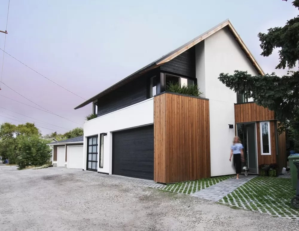 Withrow Laneway House in Calgary  earchitect