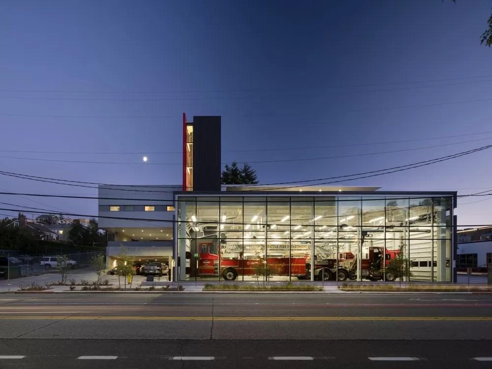 Seattle Fire Station 32 in Washington  earchitect